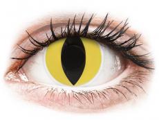 Crazy kontaktní čočky - nedioptrické - ColourVUE Crazy Lens - Cat Eye - nedioptrické (2čočky)