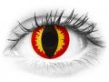 ColourVUE Crazy Lens - Dragon Eyes - nedioptrické (2čočky)