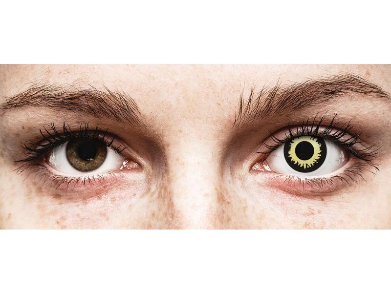 ColourVUE Crazy Lens - Eclipse - nedioptrické (2čočky)