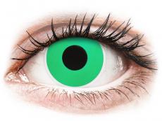 Barevné kontaktní čočky - ColourVUE Crazy Lens - Emerald (Green) - nedioptrické (2čočky)