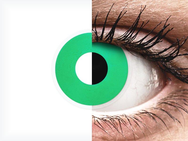 ColourVUE Crazy Lens - Emerald (Green) - nedioptrické (2čočky)