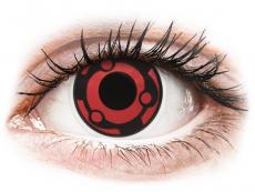 Barevné kontaktní čočky - ColourVUE Crazy Lens - Madara - nedioptrické (2čočky)