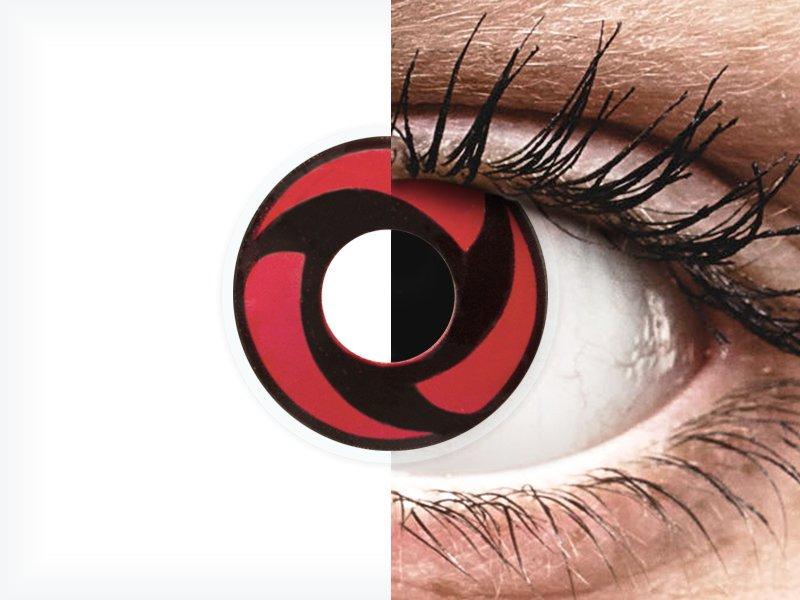 ColourVUE Crazy Lens - Mangekyu - nedioptrické (2čočky)