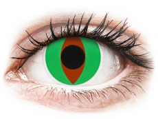 Crazy barevné čočky - ColourVUE Crazy Lens - Raptor - nedioptrické (2čočky)