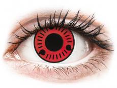 Barevné kontaktní čočky - ColourVUE Crazy Lens - Sasuke - nedioptrické (2čočky)