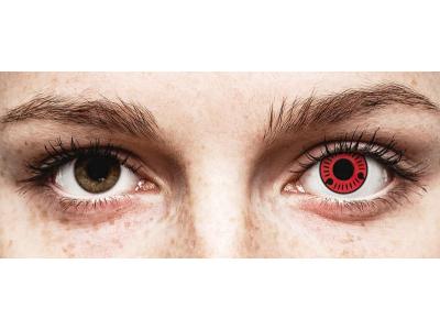 ColourVUE Crazy Lens - Sasuke - nedioptrické (2 čočky)