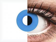 ColourVUE Crazy Lens - Sky Blue - nedioptrické (2 čočky)