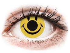 Crazy kontaktní čočky - nedioptrické - ColourVUE Crazy Lens - Smiley - nedioptrické (2čočky)