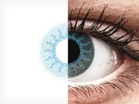 ColourVUE Crazy Lens - Solar Blue - nedioptrické (2čočky)