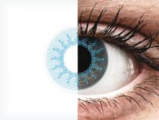 ColourVUE Crazy Lens - Solar Blue - nedioptrické (2 čočky)
