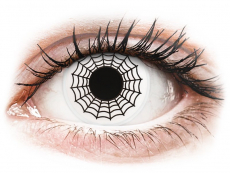 Barevné kontaktní čočky - ColourVUE Crazy Lens - Spider - nedioptrické (2čočky)