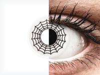 ColourVUE Crazy Lens - Spider - nedioptrické (2čočky)