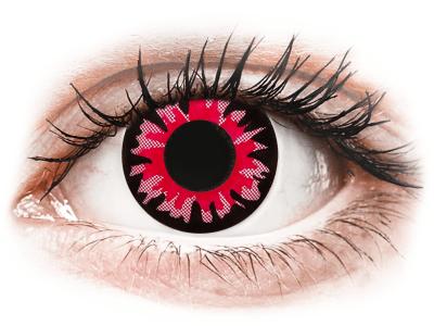 ColourVUE Crazy Lens - Volturi - nedioptrické (2 čočky) - Barevné kontaktní čočky