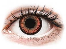 Barevné kontaktní čočky - ColourVUE Crazy Lens - Vampire - nedioptrické (2čočky)