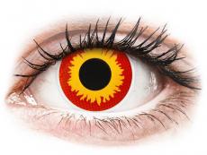 Crazy kontaktní čočky - nedioptrické - ColourVUE Crazy Lens - Wildfire - nedioptrické (2čočky)