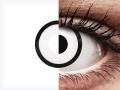 ColourVUE Crazy Lens - White Zombie - dioptrické (2čočky)