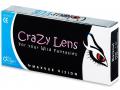ColourVUE Crazy Lens - WhiteOut - dioptrické (2čočky)