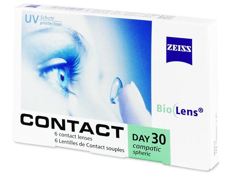 Carl Zeiss Contact Day 30 Compatic (6čoček) - Měsíční kontaktní čočky - Zeiss