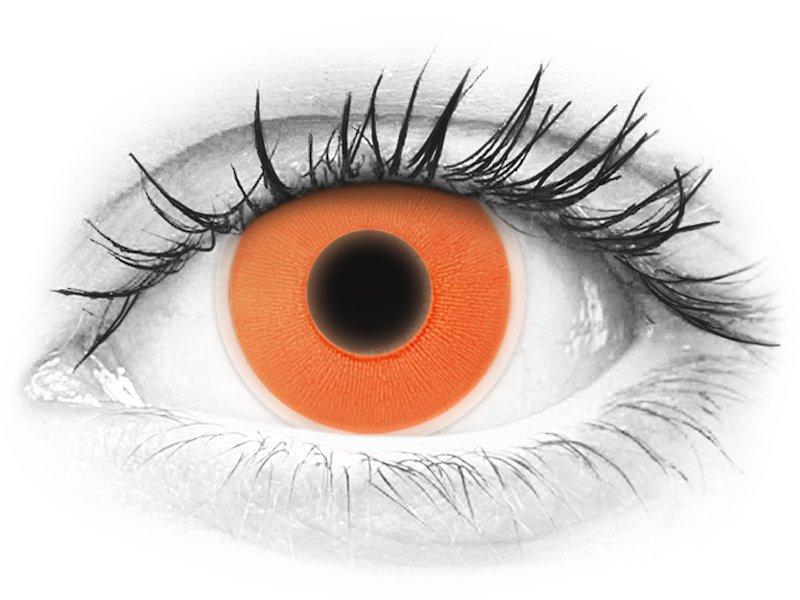 1460c7df2 ColourVUE Crazy Glow - Orange - nedioptrické (2 čočky)