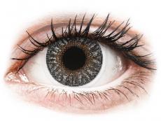 Barevné kontaktní čočky - TopVue Color - Grey - dioptrické (2čočky)