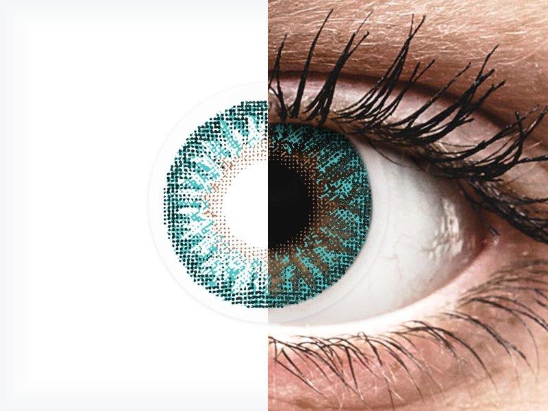TopVue Color - Turquoise - dioptrické (2čočky)