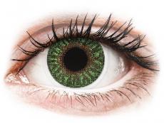 Barevné kontaktní čočky - TopVue Color - Green - nedioptrické (2čočky)