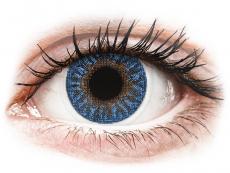 Modré kontaktní čočky - nedioptrické - TopVue Color - True Sapphire - nedioptrické (2čočky)