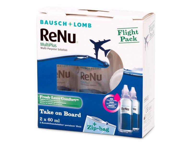Roztok ReNu MultiPlus Flight Pack 2x60 ml  - Předchozí design