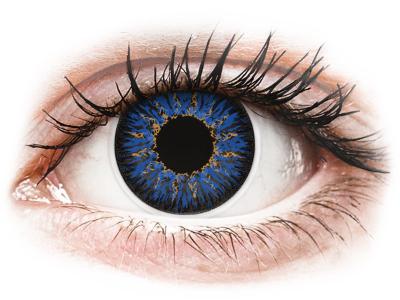 ColourVUE Glamour Blue - nedioptrické (2čočky)