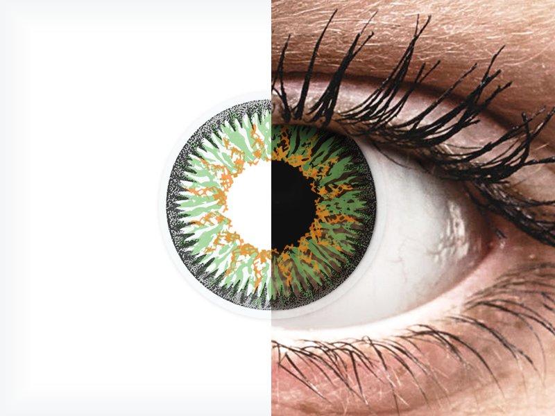 ColourVUE Glamour Green - dioptrické (2čočky)