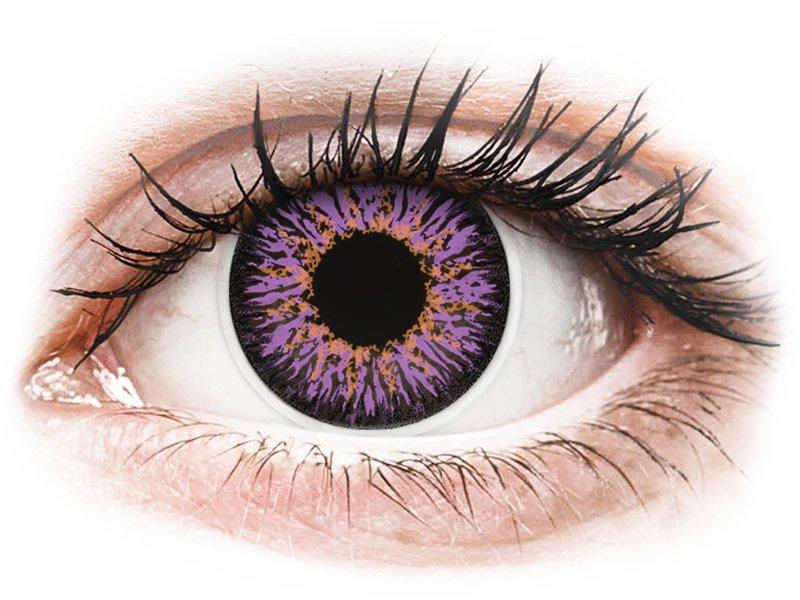 ColourVUE Glamour Violet - nedioptrické (2čočky) - Maxvue Vision