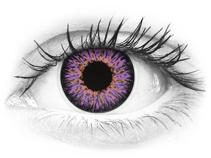 ColourVUE Glamour Violet - nedioptrické (2čočky)