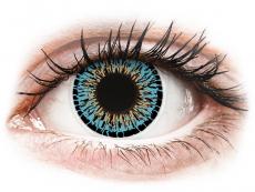 Barevné kontaktní čočky - nedioptrické - ColourVUE Elegance Aqua - nedioptrické (2čočky)