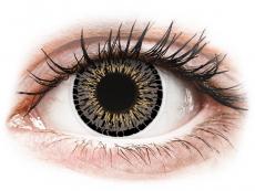 Barevné kontaktní čočky - ColourVUE Elegance Grey - nedioptrické (2čočky)