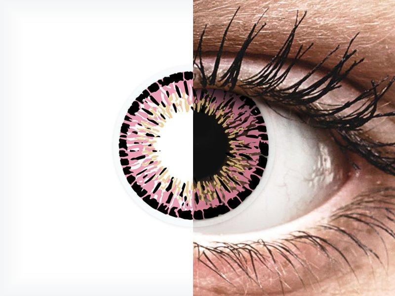 ColourVUE Elegance Pink - nedioptrické (2čočky)