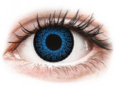 Barevné kontaktní čočky - nedioptrické - ColourVUE Eyelush Aqua - nedioptrické (2čočky)
