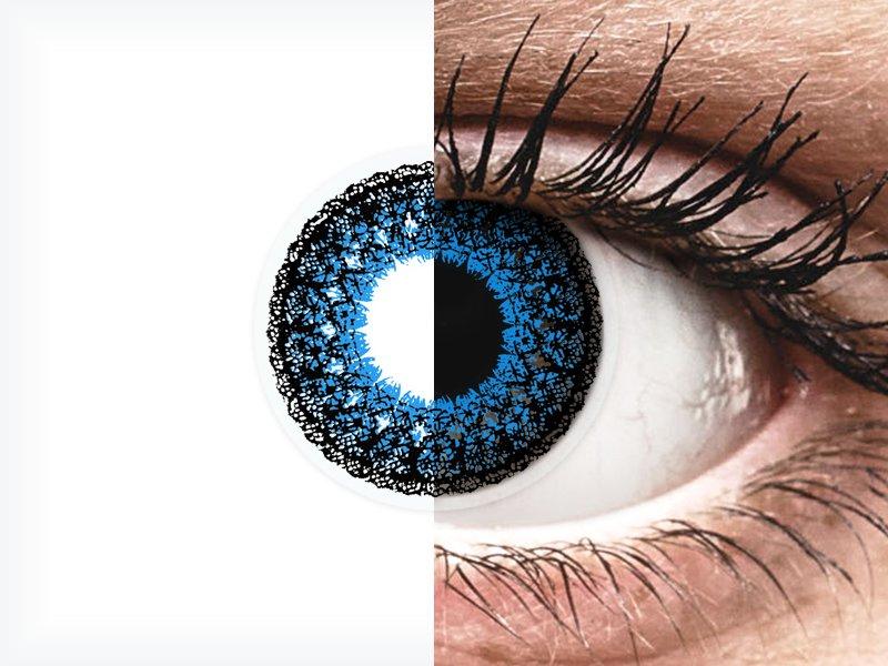 ColourVUE Eyelush Aqua - nedioptrické (2čočky)