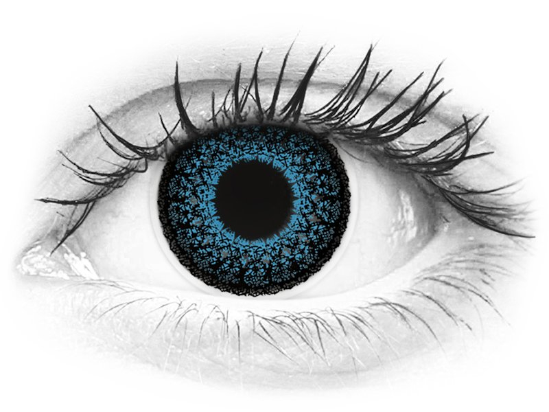 ColourVUE Eyelush Blue - nedioptrické (2čočky)