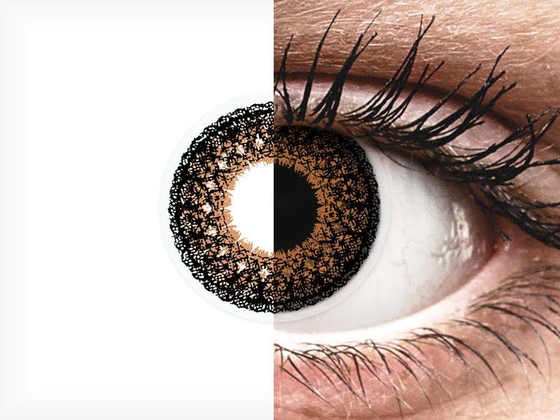 ColourVUE Eyelush Brown - nedioptrické (2čočky)