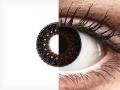 ColourVUE Eyelush Choco - nedioptrické (2čočky)