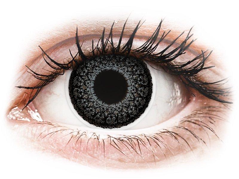 ColourVUE Eyelush Grey - nedioptrické (2čočky) - Maxvue Vision