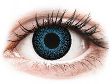 Barevné kontaktní čočky - ColourVUE Eyelush Blue - dioptrické (2čočky)