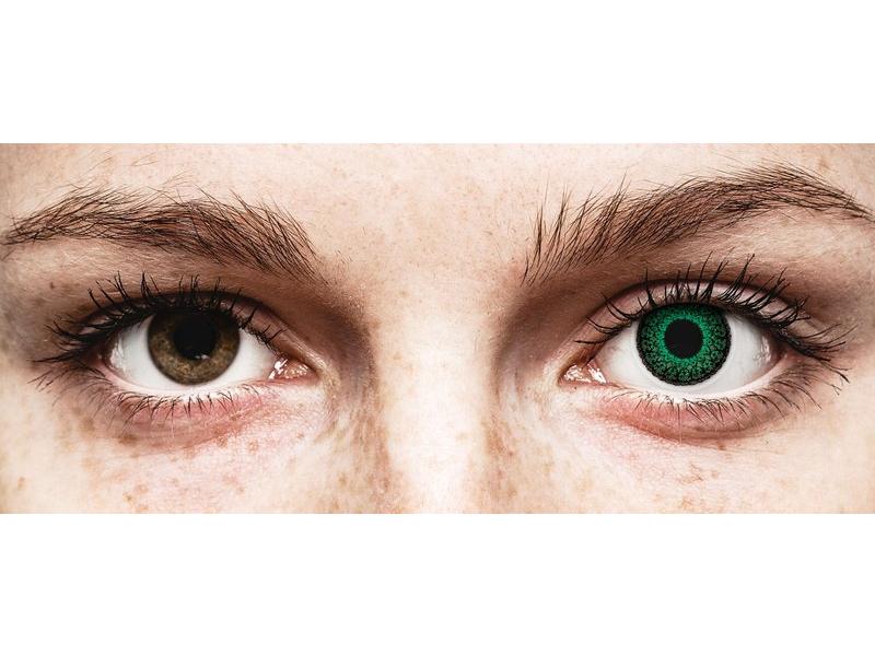 ColourVUE Eyelush Green - dioptrické (2čočky)