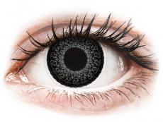 Barevné kontaktní čočky - ColourVUE Eyelush Grey - dioptrické (2čočky)
