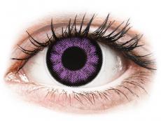 Barevné kontaktní čočky - ColourVUE BigEyes Ultra Violet - nedioptrické (2 čočky)