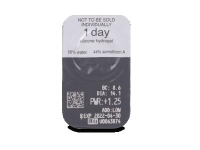 Clariti 1 day Multifocal (30 čoček) - Vzhled blistru s čočkou