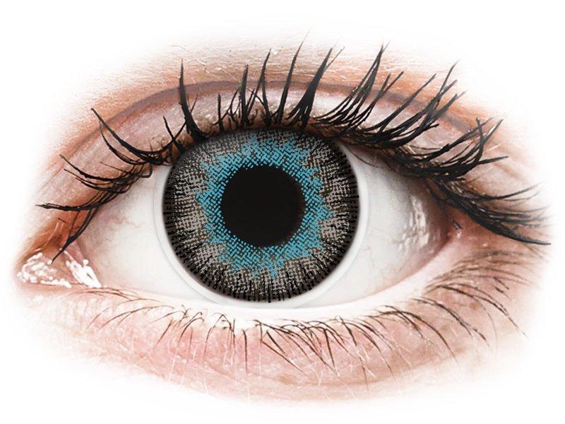 ColourVUE Fusion Blue Gray - dioptrické (2 čočky) - Maxvue Vision