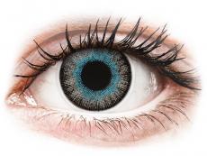 Barevné kontaktní čočky - ColourVUE Fusion Blue Gray - nedioptrické (2čočky)