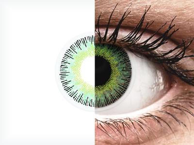 ColourVUE Fusion Green Yellow - nedioptrické (2čočky)