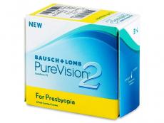 Multifokální kontaktní čočky - PureVision 2 for Presbyopia (6čoček)